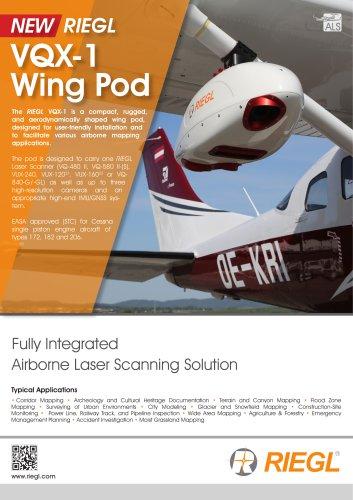 RIEGL VQX-1 Wing Pod
