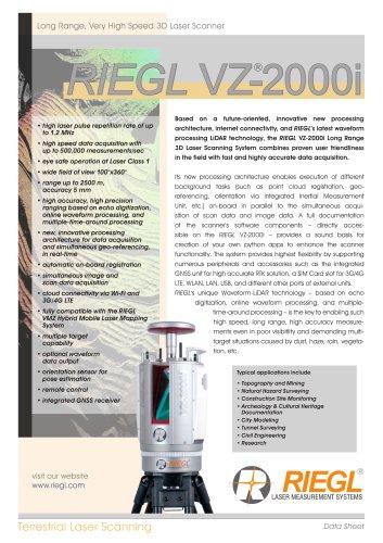RIEGL VZ-2000i