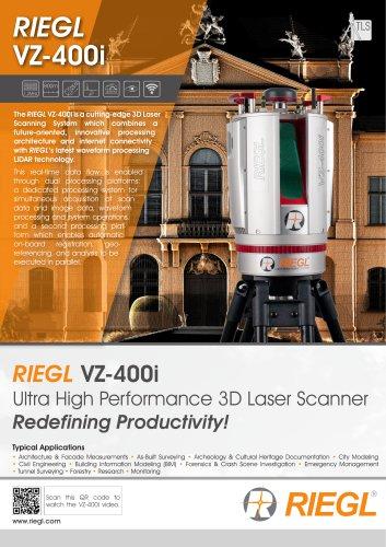 RIEGL VZ-400i