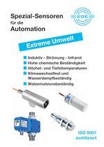 Sensoren für extreme Umwelt  in der Industrie