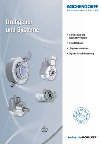 Kurz-Katalog Drehgeber und Systeme