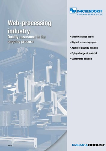Web-processing industry