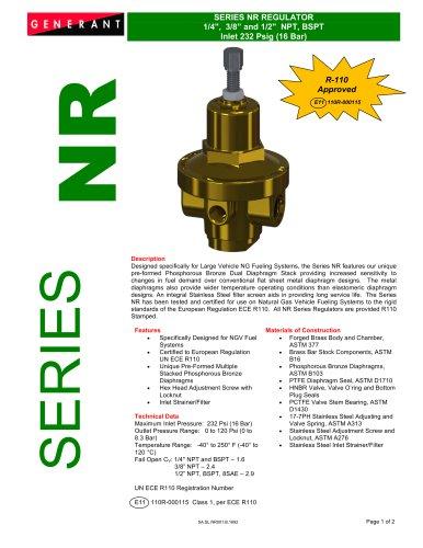 Series NR Regulator (NR)
