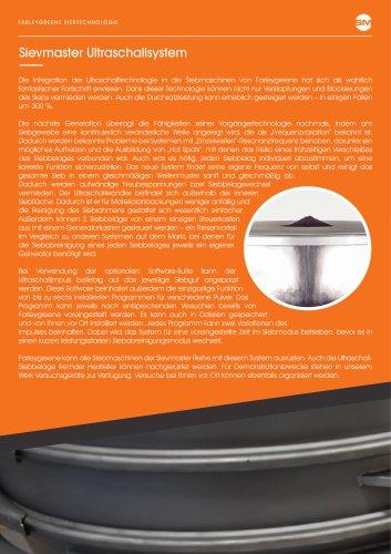 Sievmaster Ultraschallsystem