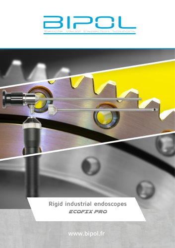 Industrial rigid ECOFIX PRO endoscopes