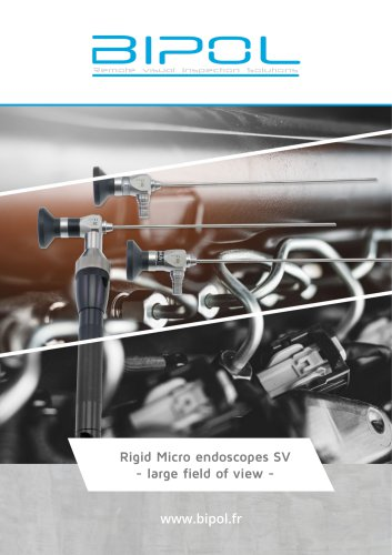 Micro endoscopes SV with large field of view