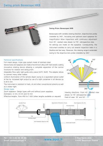 Swing prism borescope HKB