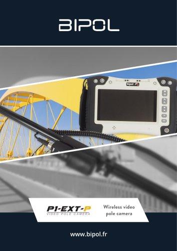 Wireless video pole camera BIPOL