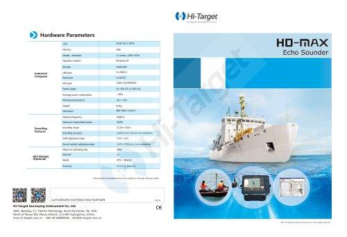 Hi-Target/Echo Sounder/HD-MAX