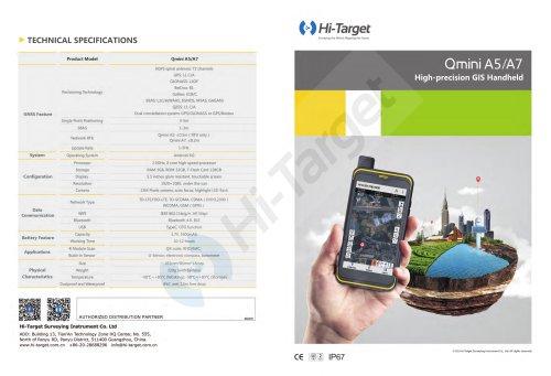 Hi-Target/GIS Handheld/Qmini A5/A7