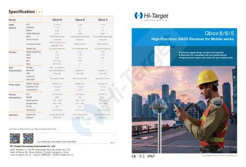 Hi-Target/GNSS Receiver/Qbox 8