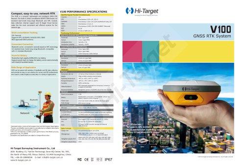 Hi-Target/GNSS RTK System/V100