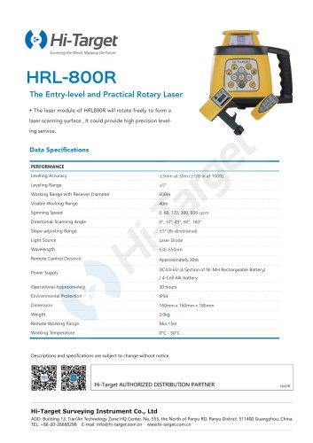 Hi-Target/Rotary Laser/HRL-800R