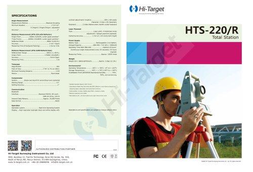 Hi-Target/Total Station/HTS-220R