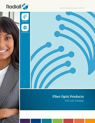 Fiber optics Full line catalog