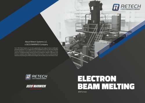 Electron Beam Melting Furnaces