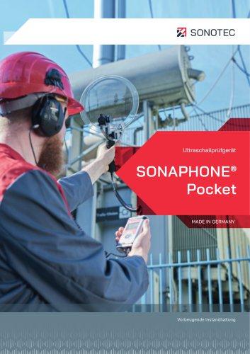 SONAPHONE Pocket - Das kompakte Prüfgeräte für die Lecksuche an Druckluft- und Gasanlagen