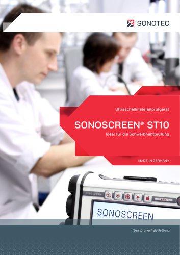 SONOSCREEN ST10 - Ultraschallprüfgerät