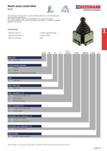 V14 Multi-axis
