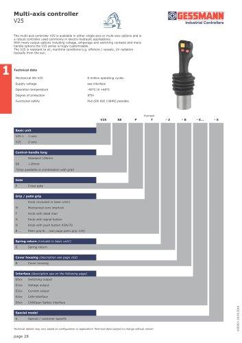 V25 Multi-axis