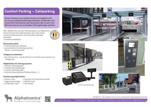 Kostenpflichtige Parken • Comfort Parking