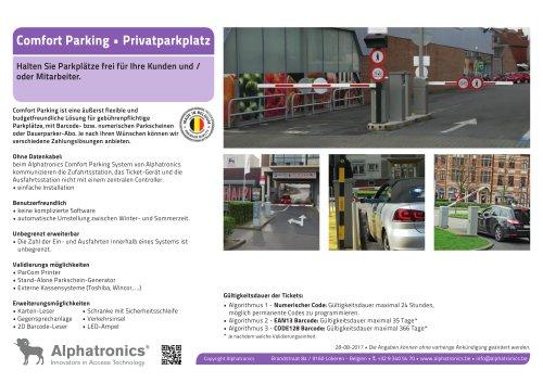 Privaten Parking - Comfort Parking