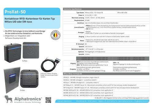 ProXat-50 RFID Karten-Leser