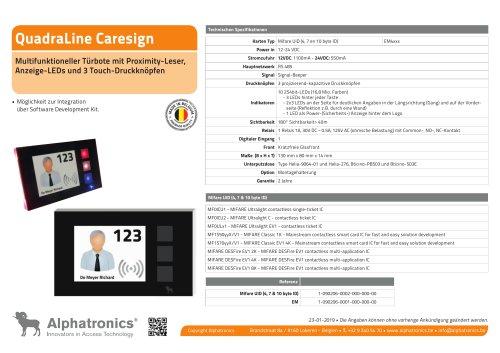 QuadraLine Caresign