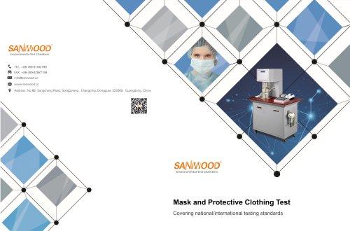 Catalog Masks and Respirators test instrument