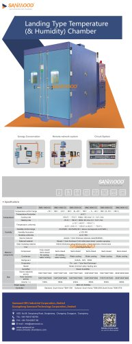 CLIMATIC TEST CHAMBER / WITH TEMPERATURE AND CLIMATIC CONTROL / EXPLOSION-PROOF / FOR HIGH TEMPERATURES SMC-5000-CC