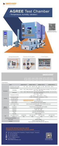 HUMIDITY AND TEMPERATURE TEST CHAMBER / CLIMATIC / VIBRATION / AUTOMATIC