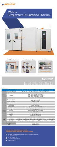 Humidity and temperature test chamber SMC-160-CC-WT-print