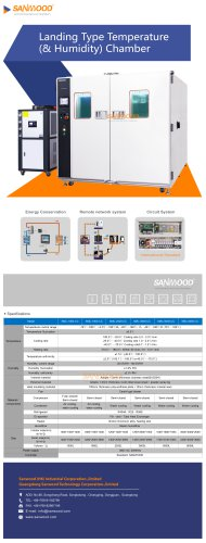 Humidity and temperature test chamber SMC-8000-CC