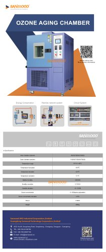 OZONE RESISTANCE TEST CHAMBER / AGING SM-150CY