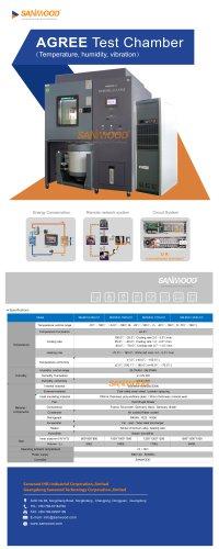 Stress test chamber SM-MVH-500-CC