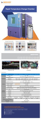 Temperature test chamber SM-KS-1500-CC