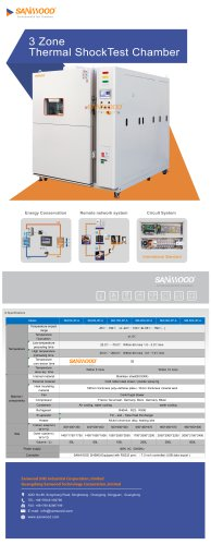 Thermal shock test chamber SM-150-3P-A
