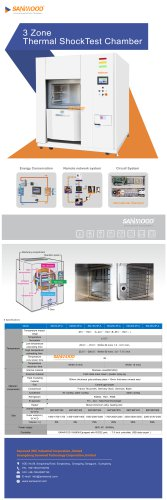 Thermal shock test chamber SM-300-3P-A