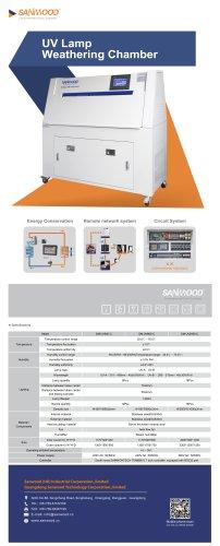 UV Lamp Aging Test Chamber