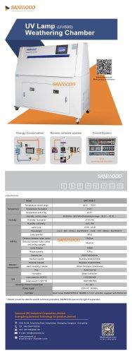 UV Lamp Weathering Test Chamber-600