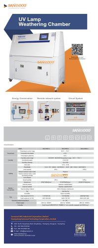 UV LIGHT AGING TEST CHAMBER / CONDENSATION / ACCELERATED / FOR WIRE
