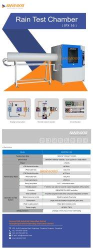 Water spray test chamber SM-IPX56-1000