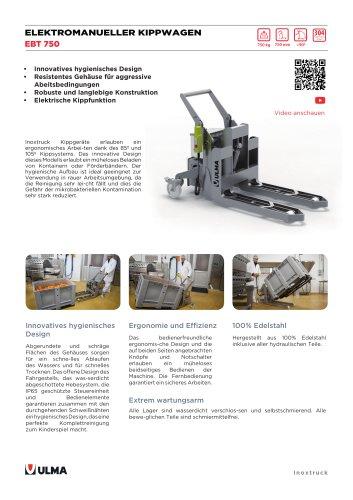 EBT750 - DE