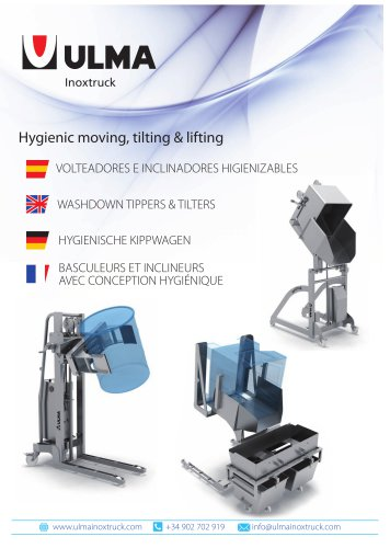 Tippers and tilters Catalogue