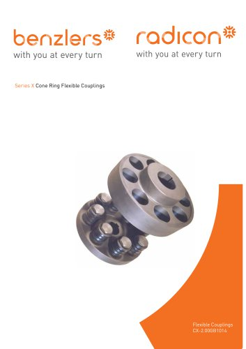Series X  Cone Ring Flexible Couplings