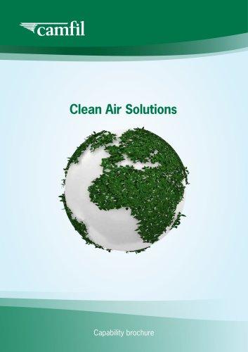 Clean Air Solution Capability Brochure