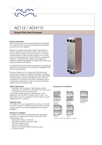 AC112 / ACH112
