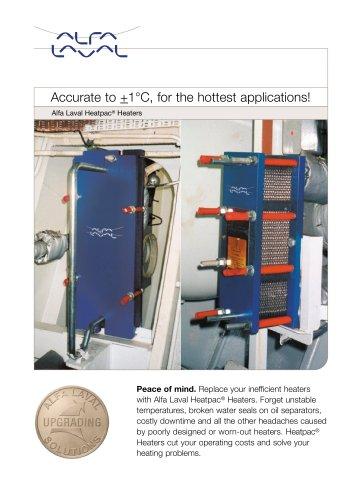 Alfa Laval Heatpac® Heaters