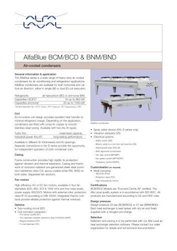 AlfaBlue BCM/BCD & BNM/BND