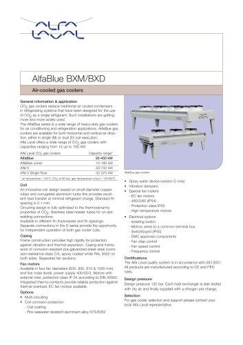 AlfaBlue BXM/BXD